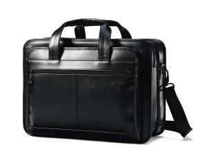 Cặp da Samsonite Leather Expandable Briefcase