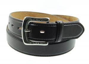 Dây lưng Men's Big Plus Size Double Stitched Bycast Leather Belt, XXL & XXXL (44in 46in 48in 50in)