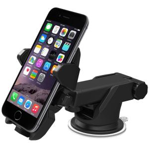 Giá đỡ iphone iOttie Easy One Touch 2 Car Mount Holder for iPhone 6 (4.7)/Plus (5.5) /5s/5c, Samsung Galaxy S5/S4/S3/Note 4/3, Google Nexus 5/4, LG G3 - Retail Packaging - Black