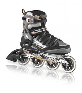 Giày Patin Rollerblade Men's 2013 Crossfire 90 Inline Skates (Black/Orange)