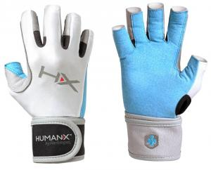 Găng tay HumanX Women's X3 3/4 Finger Wrist Wrap Competition Glove
