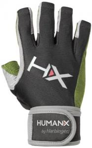 Găng tay HumanX Men's X3 Competition 3/4 Finger Wrist Wrap Gloves