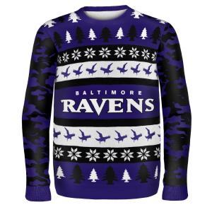Áo thu đông NFL Football 2014 Ugly Christmas Sweater Word Mark Design - Pick Team!