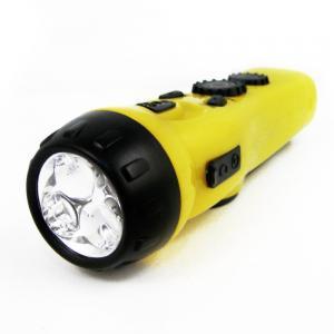 Đèn pin 4-in-1 Dynamo Emergency AM/FM Radio LED Flashlight Cell w/ Phone Charger Port