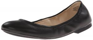 Giày Nine West Women's Andhearts Leather Ballet Flat
