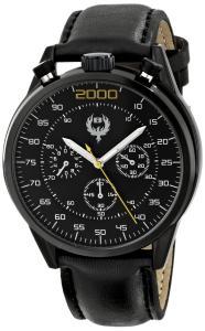 Đồng hồ Brillier Men's 13.02-01 #BUZZ Analog Display Quartz Black Watch