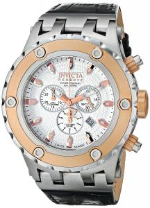 Đồng hồ Invicta Men's 10082 Subaqua Reserve Chronograph Silver Textured Dial Watch