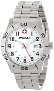 Đồng hồ Wenger Men's 60.0741.102 Stainless Steel Watch and Swiss Army Set