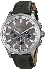 Đồng hồ Nautica Men's N16693G NCT 17 Analog Display Quartz Grey Watch