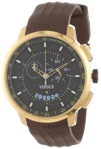 Đồng hồ Versus by Versace Men's SGV060013 Manhattan Gold Ion-Plated Stainless Steel Chronograph Tachymeter Date Watch