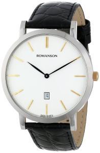 Đồng hồ Romanson Men's TL5507MX1CBS1B Classic Analog Swiss-Quartz Black Watch