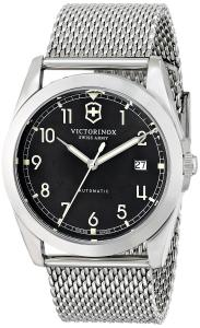 Đồng hồ Victorinox Unisex 241587 Infantry Analog Display Swiss Automatic Silver Watch