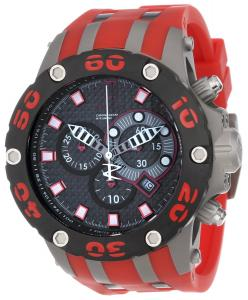 Đồng hồ Jason Taylor for Invicta Collection 12949 Reserve Chronograph Black Carbon Fiber Dial Red Polyurethane Watch