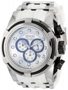 Đồng hồ Invicta Men's 14404 Bolt Chronograph Silver Dial White Polyurethane Watch