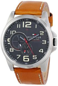 Đồng hồ Tommy Hilfiger Men's 1791004 Stainless Steel Watch with Leather Band