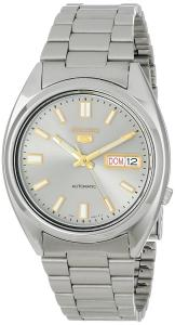 Đồng hồ Seiko Men's SNXS75 Seiko 5 Automatic Grey Dial Stainless-Steel Bracelet Watch