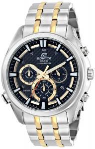 Đồng hồ Casio Men's EFR-537SG-1AVCF Neon Illuminator Analog Display Quartz Two Tone Watch