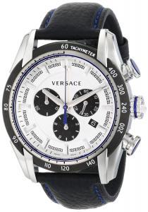 Đồng hồ Versace Men's VDB010014 V-Ray Analog Display Quartz Black Watch