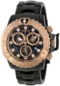 Đồng hồ Invicta Men's 14489 Jason Taylor Analog Display Swiss Quartz Black Watch