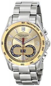 Đồng hồ Victorinox Unisex 241619 Chrono Classic Analog Display Swiss Quartz Silver Watch