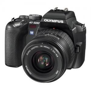 Máy ảnh Olympus Evolt E500 8MP Digital SLR with Zuiko 14-45mm f/3.5-5.6 Digital SLR Lens