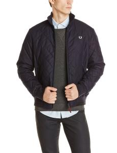 Áo khoác Fred Perry Men's Diamond Quilted Bomber Jacket