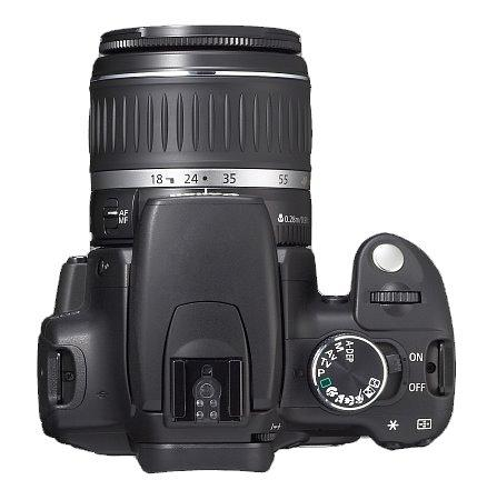Máy ảnh Canon Digital Rebel XT DSLR Camera with EF-S 18-55mm f3.5-5.6 Lens (Black) (OLD MODEL)