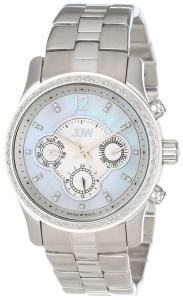 Đồng hồ JBW Women's J6272A  Diamond Bezel Mother-Of-Pearl Chronograph Watch