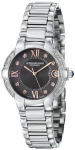 Đồng hồ Stuhrling Original Women's 338L.121154 Symphony Regent Countess Elite Swiss Quartz Genuine Diamond Date Bracelet Watch