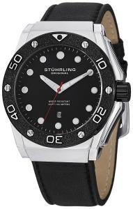 Đồng hồ Stuhrling Original Men's 723.01 Special Reserve Apocalypse Storm Quartz Date Black Watch
