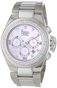 Đồng hồ Freelook Women's HA5303M-5PX Aquamarina II Stainless Steel Pink Mother of PearlDial Swarovski Bezel Watch