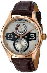 Đồng hồ Stuhrling Original Men's 712.04 Leisure Khepri Analog Display Automatic Self Wind Brown Watch