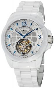 Đồng hồ Stuhrling Original Men's 475.33EP3 Tourbillon Specter Limited Edition Mechanical White Ceramic Watch