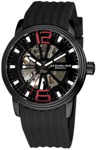 Đồng hồ Stuhrling Original Men's 1078.33561 Classic Delphi Achilles Automatic Skeleton Black Watch