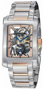 Đồng hồ Stuhrling Original Men's 8144C2B.332A114 Classic Gatsby Elite Mechanical Skeleton Rose Tone Dial Watch