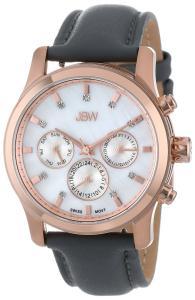 Đồng hồ Đồng hồ JBW Women's J6270E  Mother-Of-Pearl Leather Diamond Watch