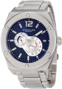 Đồng hồ Stuhrling Original Men's 281B.331121 Leisure Gen-X Esprit D'vie Automatic Blue Dial Stainless Steel Bracelet Watch