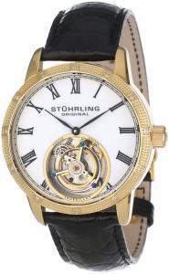 Đồng hồ Stuhrling Original Men's 312S.3335X15 Tourbillon Diamond Dominus Limited Edition Mechanical Gold Tone Watch