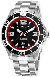 Đồng hồ Stuhrling Original Men's 161B3.331164 Nautical Regatta Grand II Swiss Quartz Divers Date Stainless Steel Watch