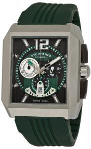 Đồng hồ Stuhrling Original Men's 284A.3316D71 Sportsman Metropolis Chronograph Swiss Quartz Date Green Watch