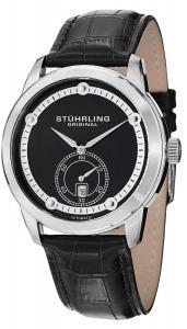 Đồng hồ Stuhrling Original Men's 720.02 Leisure Gen X Circuit Automatic Date Black Dial Watch