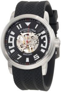 Đồng hồ Stuhrling Original Men's 1079.33161 Classic Delphi Archer Automatic Skeleton Black Watch