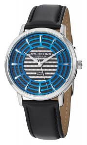 Đồng hồ Stuhrling Original Men's 398.331516 Classic Winchester Colosseum Swiss Quartz Slim Blue Dial Watch