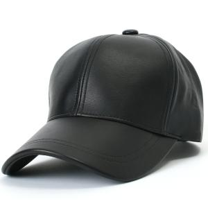 Mũ ililily Genuine Leather Precurved Bill Baseball Cap with Snapback (ballcap-575)