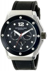 Đồng hồ Stuhrling Original Men's 469.33B51 Special Reserve Midnight Apocalypse Analog Display Quartz Black Watch