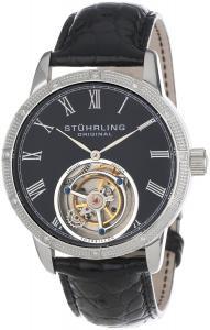 Đồng hồ Đồng hồ Stuhrling Original Men's 312S.3315X1 Tourbillon Diamond Dominus Limited Edition Mechanical Black Dial Watch