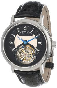 Đồng hồ Stuhrling Original Men's 502.331X1 Tourbillon Circular Limited Edition Mechanical Black Watch