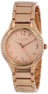 Đồng hồ Đồng hồ Akribos XXIV Women's AK548RG Swiss Quartz Stainless Steel Crystal Watch