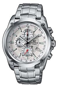 Đồng hồ CASIO EDIFICE EF-524D-7AVEF ANALOG MEN'S SILVER DIAL WATCH