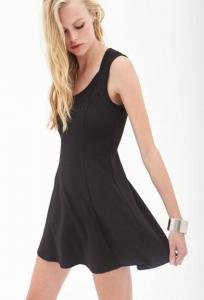 Váy Forever21 A-Line Textured Knit Dress